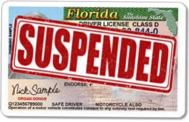 Suspended Driver License Image