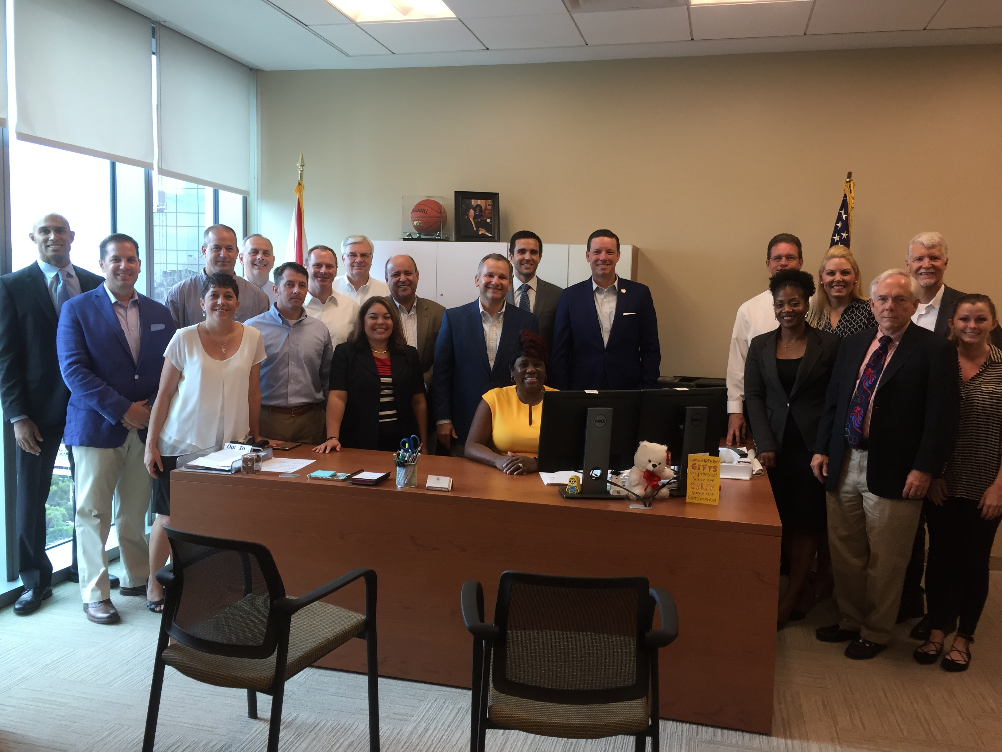 Florida Clerk's visit Broward County Clerk Brenda D. Forman
